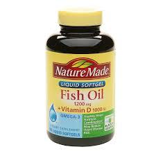 روغن ماهی+ ویتامین D